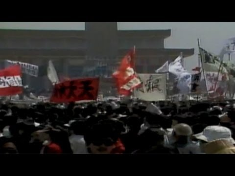 CNN: Flashback to 1989: Tiananmen Square protests