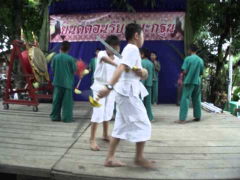 Zak Sword Dance Wat Mae Salaab 17th November 2013