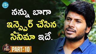 Actor Sundeep Kishan Exclusive Interview Part #10 | Frankly With TNR | Talking Movies With iDream - IDREAMMOVIES