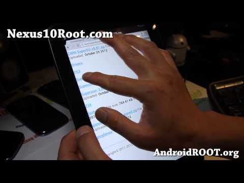 How to Root Nexus 10 on Mac OSX! [Android 4.4.2/4.4.3/4.4.4]
