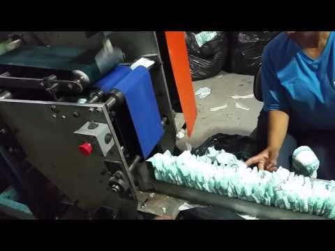Máquina de Fraldas - Produção: 160 a 180 peças por minuto