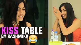 KISS Table By Rashmika Mandanna | Hilarious | Chalo Movie Promotions | TFPC - TFPC