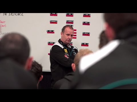 Ken Hinkley pre-game speech in Dom Cassisi's final game - Round 18, 2014