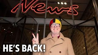 Chris Evans kicks off Virgin Radio comeback in London - THESUNNEWSPAPER