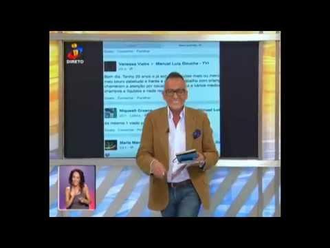 Manuel Luís Goucha é ofendido no Facebook e dá resposta à altura