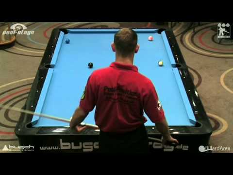 2011 01 Brunner Steinlage 8 Ball Pool Billard Bundesliga