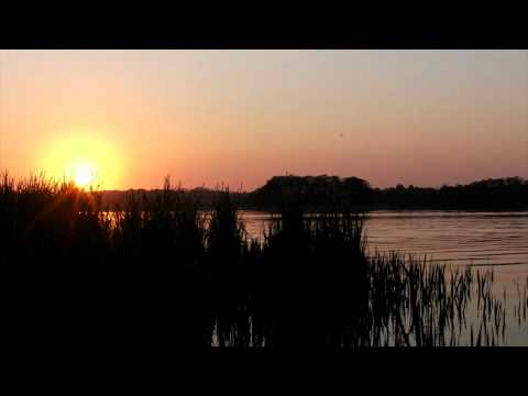 Relaxing Nature Scenes - Sunset over a lake with the relaxing sounds of frogs