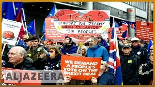 🇬🇧 UK's Labour Party to vote on launching second Brexit referendum | Al Jazeera English - ALJAZEERAENGLISH