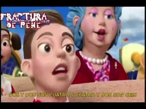 Fractura de pene - Tengo una muñeca vestida de azul (Official Video)
