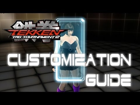 Tekken Tag Tournament 2 Customization Guide