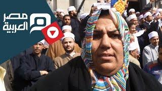 بالفيديو..هتافات ثورة 1919 تتصدر وقفة أئمة الأوقاف بالعباسية