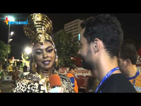Carnaval 2015 || Cris Vianna - Rainha de Bateria da Imperatriz Leopoldinense