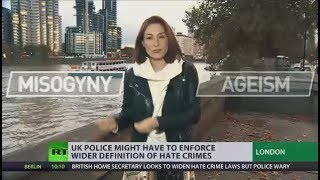 Ageism and misogyny could become hate crimes in UK, but police are wary - RUSSIATODAY