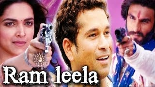 Ram leela - Ranveer Singh & Deepika Padukone to watch Sachin Tendulkar's last match in the stadium