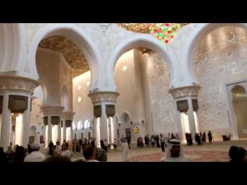 Sheikh Zayed Grand Mosque Abu Dahbi 2013
