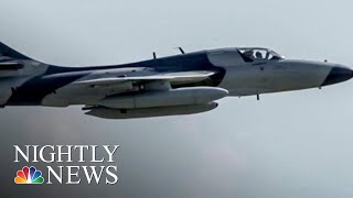 Pilot Nearly Killed During Military Exercise | NBC Nightly News - NBCNEWS