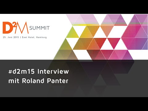 #d2m15 Interviews - Roland Panter