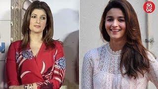 Twinkla Khanna On 'Padmaavat' Vs 'Padman' Clash | Alia & Ranbir's Sister Riddhima New BFF's? - ZOOMDEKHO