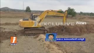 Shame | Koderu Police Arrests Farmers For Obstruct Kalwakurthy Lift Irrigation Works | iNews - INEWS