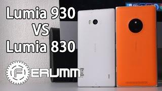Сравнение Nokia Lumia 830 и Nokia Lumia 930. Что лучше и почему. Полный обзор от FERUMM.COM