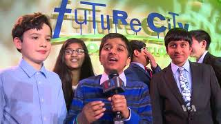 Middle-School Engineering Students Compete to Design City of the Future - VOAVIDEO