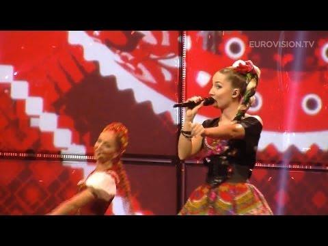 Występ Cleo podczas półfinału Eurowizji