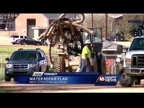 Jackson mayor speaks out on water repair plan