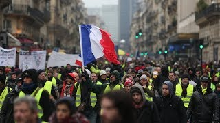 Yellow Vest protest in Paris: Act X (Pt.2) - RUSSIATODAY