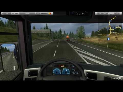 German Truck Simulator HD gameplay