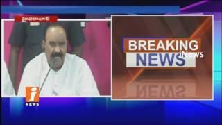 Home minister Nayani Narasimha Reddy Speaks To Media Over Dharna Chowk Shifting Issue | iNews - INEWS