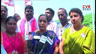 Janasena leaders Protest At Narsapuram Dumping Yard | West Godavari district | CVR NEWS - CVRNEWSOFFICIAL