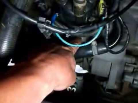 Troca da correia dentada do Motor AP com sistema de injeção mono ponto