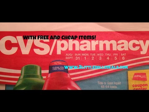 CVS Sales Circular Preview And Free and Cheap Items 8/31/14 to 9/6/14