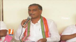 Govt Will Clear Drought in Mahbubnagar With Krisha Water | Harish Rao | iNews - INEWS
