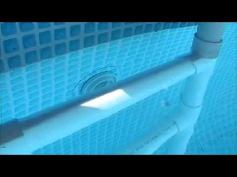 how to build a floating dock with pvc pipe