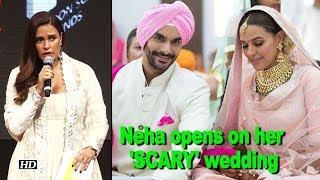 Neha finally opens on her 'SCARY' wedding with Angad - IANSLIVE