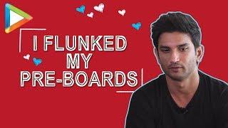 "Sushant Singh Rajput: ""I FLUNKED my pre-boards"" | Twitter Fan Questions - HUNGAMA"