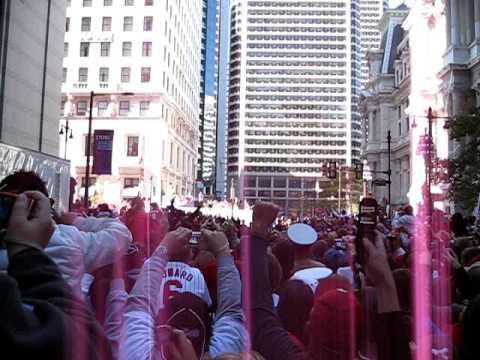 Phillies Parade - Penn Square
