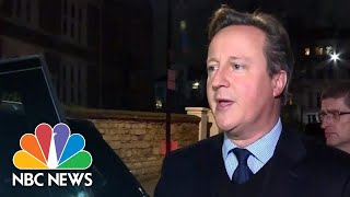David Cameron On Brexit: 'I Don't Regret Calling The Referendum' | NBC News - NBCNEWS