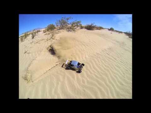 Custom built rc sand rail
