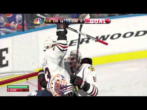NHL® 15 - Spanking them Oilers