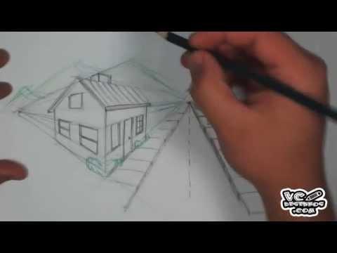 Como desenhar um cenário com 2 pontos de fuga
