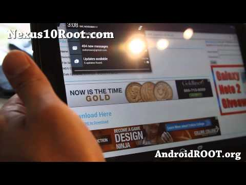 How to Root Nexus 10! [Android 4.3/4.4.2/4.4.3/4.4.4]