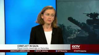 See the news report video by Middle East policy analyst has insight on Gaza conflict