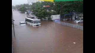 Bhubaneswar: Flood-like situation in city after heavy rains, many areas submerged - TIMESOFINDIACHANNEL