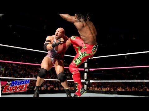 Kofi Kingston vs. Ryback: WWE Main Event, Oct. 30, 2013