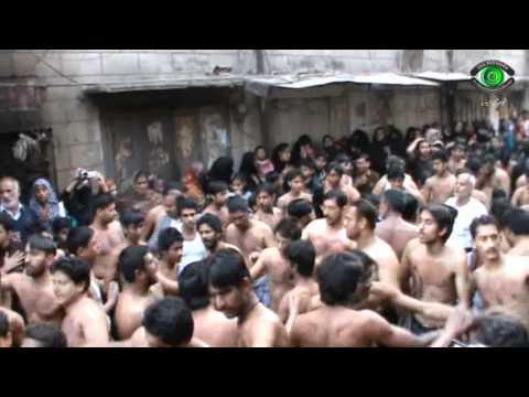 Anjuman e Jaffria Colony - Allah Janay Sain Zainab (S.A) Ne Kiewin