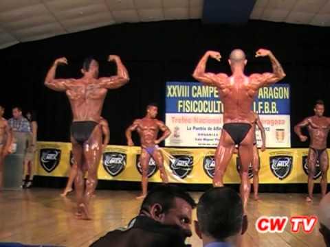 XXVIII Campeonato de Aragón FEFF/IFBB 2012 (2ª parte)