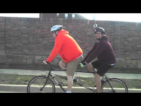 First tandem ride