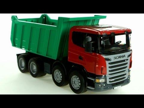 SCANIA R-Series Dump Truck – Muffin Songs' Oyuncakları Tanıyalım